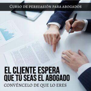 Curso de persuasión para abogados